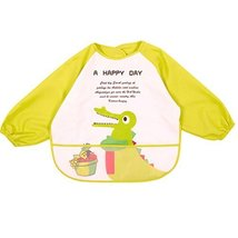 Baby Boy Girls Painting/Eating Waterproof Bibs Children's Aprons/Smock-A491 - $14.77