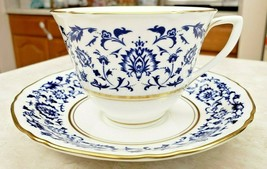 Royal Worcester Montserrat Cup and Saucer Fine Bone China - $16.83