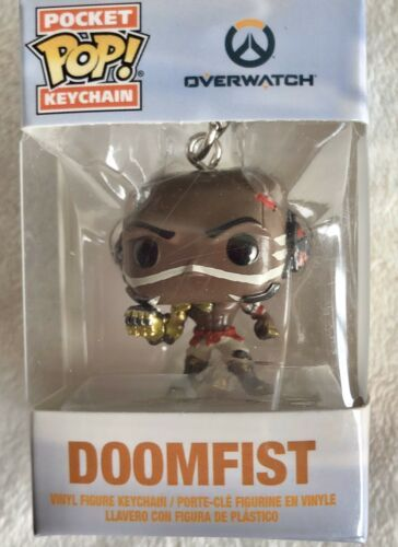 Primary image for Funko Pocket POP! Keychain - Overwatch S3 - DOOMFIST - New in Box
