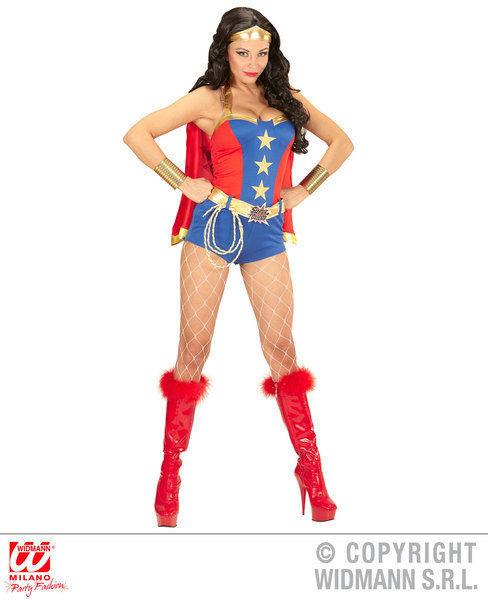Comic Book Woman - Wonder Girl Costume