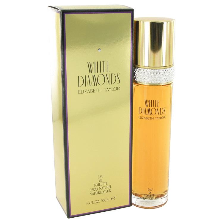 Elizabeth taylor white diamonds 3.3 oz perfume