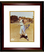 Enos Slaughter signed New York Yankees 8x10 Photo Custom Framed (deceased) - $78.95
