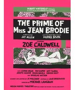Wall Decor Poster.Home Room art dorm design.Miss Jean Brodie play.Theate... - $10.89+