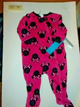 Disney Store Minnie Mouse Blanket Footed Sleeper Baby Size   - $19.99