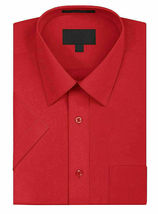 New Open Box Repackaged Men's Short Sleeve Dress Shirts Multiple Colors image 10