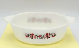 Vintage Fire King Primrose   1.5 Qt Backward Stamp Casserole Dish #467 N... - $14.85