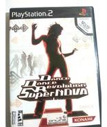 Dance Dance Revolution Super Nova Sony PlayStation 2, 2006 - $7.89