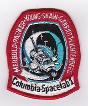 COLUMBIA SPACELAB 1 MISSION PATCH 3 1/2 INCH - $4.60
