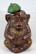 Vtg CNC Los Angeles Japan Pottery Ceramic Monkey Decanter Bottle w Cork ... - $125.29