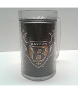 Baltimore Ravens Thermal Stein Beer Mug ThermoServ Insulated 16 oz plastic - $9.00
