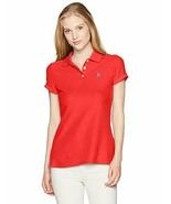 U.S. Polo Assn. Women's Ultimate Polo,Racing red,L - $25.73