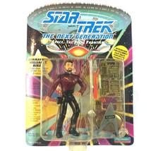 Star Trek TNG Commander William Riker Action Figure 1992 Playmates Sealed - $9.85