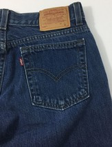 "Levis 518 SuperLow Boot Cut Blue Jeans Junior Size 9 M Actual: 30"" X 30""... - $16.78"