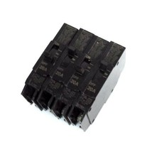 LOT OF 4 GENERAL ELECTRIC TEY120 CIRCUIT BREAKERS 1P, 20A, ISSUE XR-1566