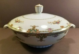 FNC Narumi China Princess Occupied Japan Round Vegetable Bowl With Lid - $89.85