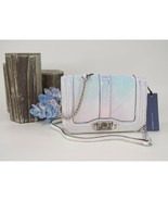 Rebecca Minkoff Opal Iridescent Leather Small Love Crossbody Bag NWT - $196.52