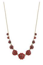 Michal Negrin Brass Necklace Swarovski Crystals  #100171780008 - $167.31