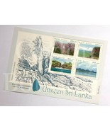 Unseen Sri Lanka Stamps Miniature Sheet with Preparation 12 Stamps in 03... - $6.35