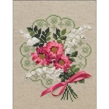 RIOLIS Counted Cross Stitch Kit, Bouquet Of Love, Kit #R1074 - $14.87