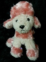 "7"" Applause Pink Poodle 48283 Beanie Plush Stuffed Animal - $8.79"