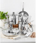 Tools of the Trade Stainless Steel 13-Piece Cookware Set - $99.99
