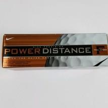 Box Of 3 Golf Balls Nike Precision Power Distance Feel Speed - $13.09