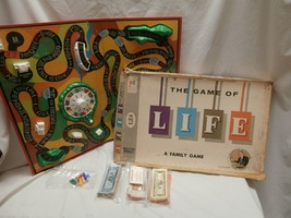 1960 Milton Bradley The Game of Life Board Game Art Linkletter Cover 4000 - $20.00