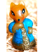 Soviet Vintage Fox Snow Maiden Home Decor Character Toy Christmas New Ye... - $5.00