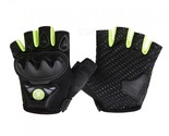 WOSAWE BST-016 Motorcycle Half-finger Tactical Gloves - Green (M)