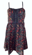 Staring At Stars~~ Urban Outfitters  Size S  Lined Paisley Print Sun Dress - £8.05 GBP