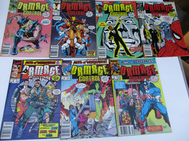 Damage Control Marvel comic book lot Acts of Vengeance 1 2 3 4 - $21.96