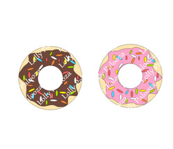 Donut DIGITAL File - Instant Download. No Physical Items Shipped.  PNG and SVG F