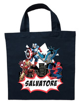 Avengers Trick or Treat Bag - Personalized Avengers Party Bags - $11.99+