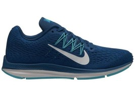 Nike Zoom Winflo 5 Running Fitness Shoes Blue Force Summit White Womens ... - $79.19