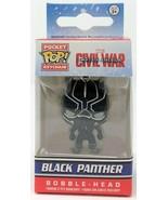Funko Taschen Pop! Marvel Bürgerkrieg Schwarz Panther Keychain Vinyl Fig... - $14.48