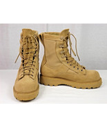NEW US Military Army Bates 09-D-0033 Tan Boots size 3.5 W - NSN 8430-01-... - $49.95