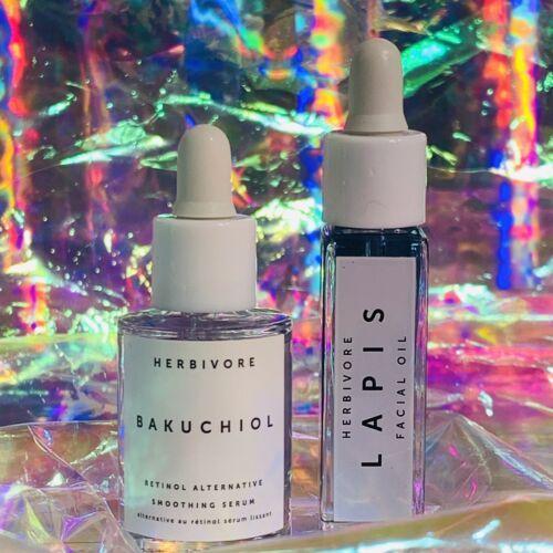 Herbivore Bakuchiol Retinol Alternative 10mL&Blue Tansy LAPIS oil (like Luna)8mL