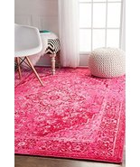 Traditional Area Rugs Pink Fashion Vintage Rugs Oriental Persian Look Sh... - $456.08