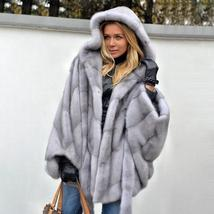New Winter Fashion High Quality Thick Imitation Thick Mink Fur Coat image 5