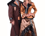 Victorian - Steampunk Lady - Long Bronze , Sizes 8 to 24