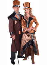 Victorian - Steampunk Lady - Long Bronze , Sizes 8 to 24 - $68.31+