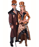 Victorian - Steampunk Lady - Long Bronze , Sizes 8 to 24 - $69.45+