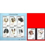 NICARAGUA 2000 the WORLD of DOGS M/S + SET of 2 MNH DOMESTIC ANIMALS - $2.28