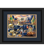 "Notre Dame Fighting Irish ""Tailgate Celebration"" - 15 x 18 Framed Photo - $39.95"