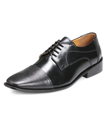 LIBERTYZENO Men's Oxford Dress Shoes Leather Cap Toe Formal Business Shoe L-1096 - $54.99