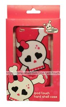SWEET GIZMO Durable Hard Shell Case PINK+SKULL Sleek Profile FOR iPOD TOUCH - $5.93
