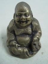 Antique bronze Statue Figurine figure decorative a Buddha - $14.00