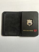 Police Officer Wife❤️ Generic Mini Shield  Leather ID Wallet - 2018 - $23.76