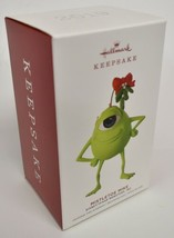 Hallmark Christmas Ornament 2019 Disney Pixar Monsters Mistletoe Mike - $18.61