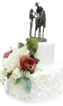 Montana Silversmith Cherished Cake Topper - $58.00